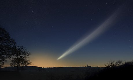 comet Ison graphic