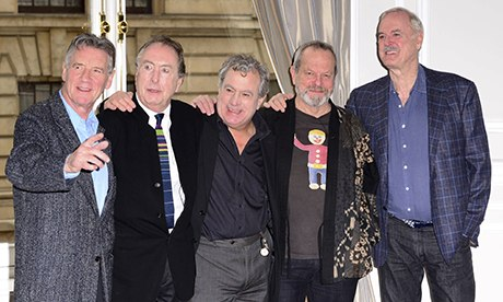 Monty Python reunion: and now for something not completely different …
