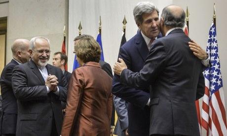 John Kerry at Iran talks in Geneva