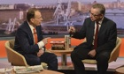 Michael Gove and Andrew Marr, 24/11/13