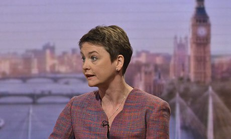 Yvette Cooper on The Andrew Marr Show, 24/11/13