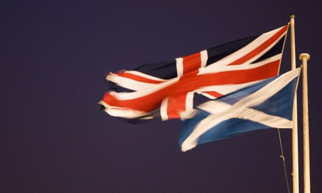 The St Andrews Cross and the Union Jack