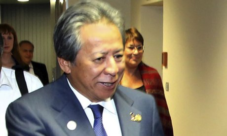 Malaysian foreign minister Anifah Aman