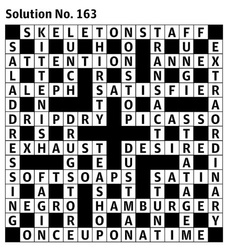 araucaria s first guardian crossword the solution