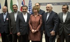 Catherine Ashton, Mohammad Javad Zarif and the Iranian delegation