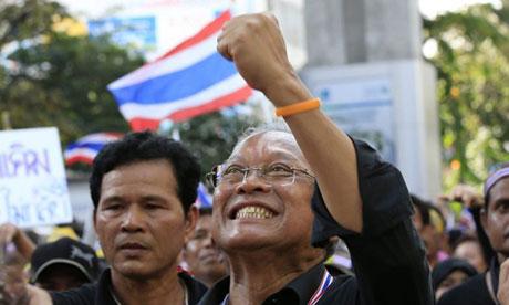 Thai anti-government protest leader Suthep Thaugsuban