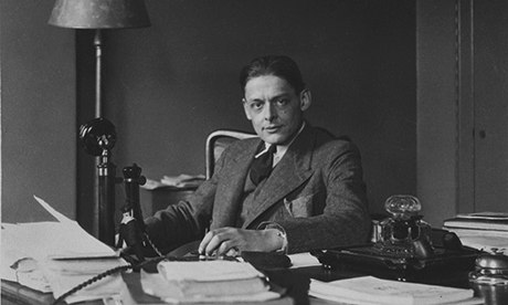 TS Eliot at home