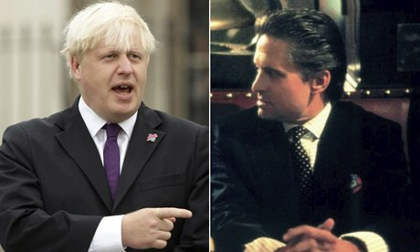 Boris Johnson and Gordon Gekko composite
