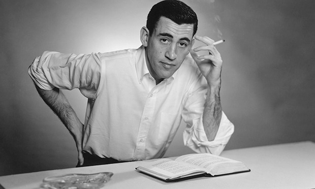 Famous People Who Served JD-Salinger-portrait-New--010