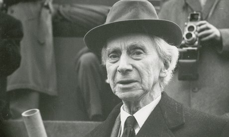 Bertrand Russell - Magazine cover