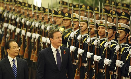 David Cameron, China