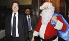 George Osborne and Santa Claus
