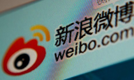 Weibo, the Chinese microblogging site