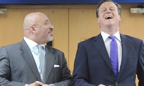 Nadhim Zahawi MP with David Cameron
