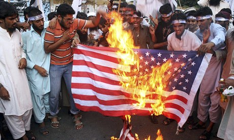 Protest against US drone attacks in Pakistan