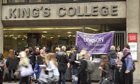 Nationwide strike by higher education staff at Universities