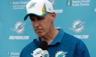 Miami Dolphins head coach Joe Philbin