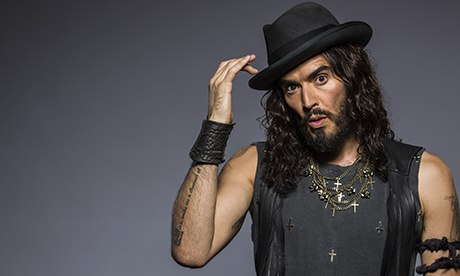 Comedian and actor Russell Brand