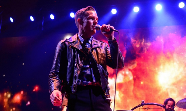 Later with jools holland the killers boy george and chase status as it happened The killers madison square garden