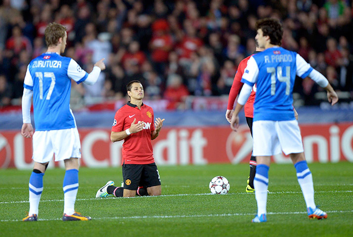 Champions League: Real Sociedad v Manchester United - in ...