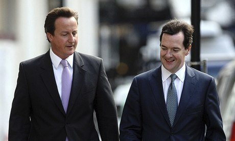 David Cameron and George Osborne