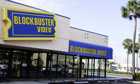 Blockbuster rental store