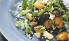Hugh Fearnley-Whittingstall's warm salad of roast squash and fried mushrooms
