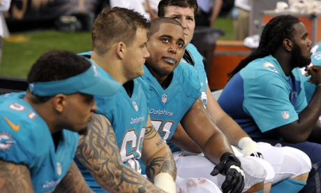 Miami Dolphins' Richie Incognito and Jonathan Martin