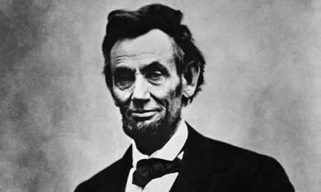 An 1865 photograph of Abraham Lincoln