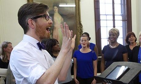 Gareth Malone in The Choir