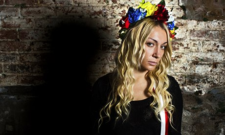 Лидер Femen Инна Шевченко: «Я за любые формы феминизма