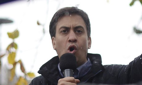 Ed Miliband's popularity rating is rising