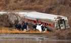 Metro-North commuter train derailment