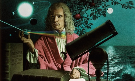 1974 portrait of Isaac Newton as solitary genius.