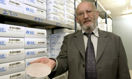 French breast implant firm PIP's founder jailed...