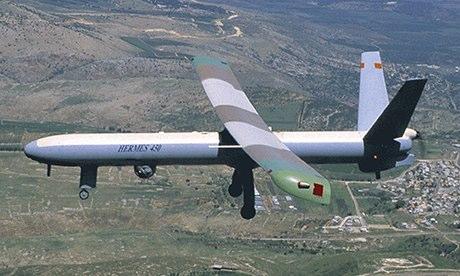 Hermes 450 drone