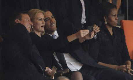 Cameron, Thorning-Schmidt and Obama