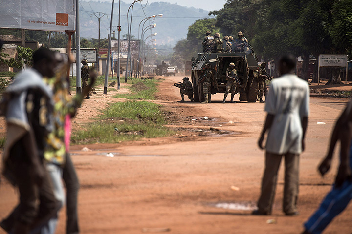 Central African Republic Conflict Central African Republic