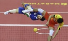 Sport picture of the day: the air and grace of sepaktakraw