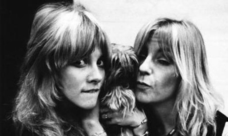 Stevie Nicks and Christine McVie in 1975