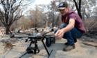 drone bushfires australia