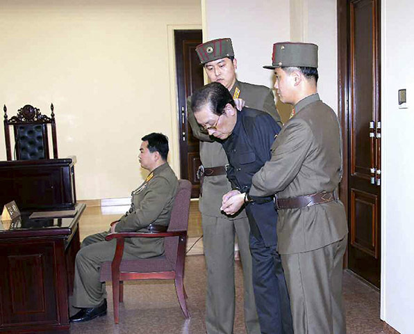 20 Photos: Jang Song Thaek is brought into court in North Korea