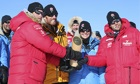 Prince Harry reaches South Pole on Walking with the Wounded expedition