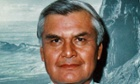 Navajo code talker Wilfred Billey.