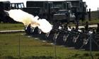 21-gun salute at Mandela's funeral