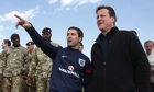 David Cameron and Michael Owen