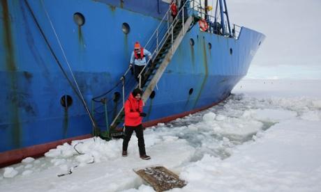 Antarctica Live: Alok Jha steps onto Antarctica