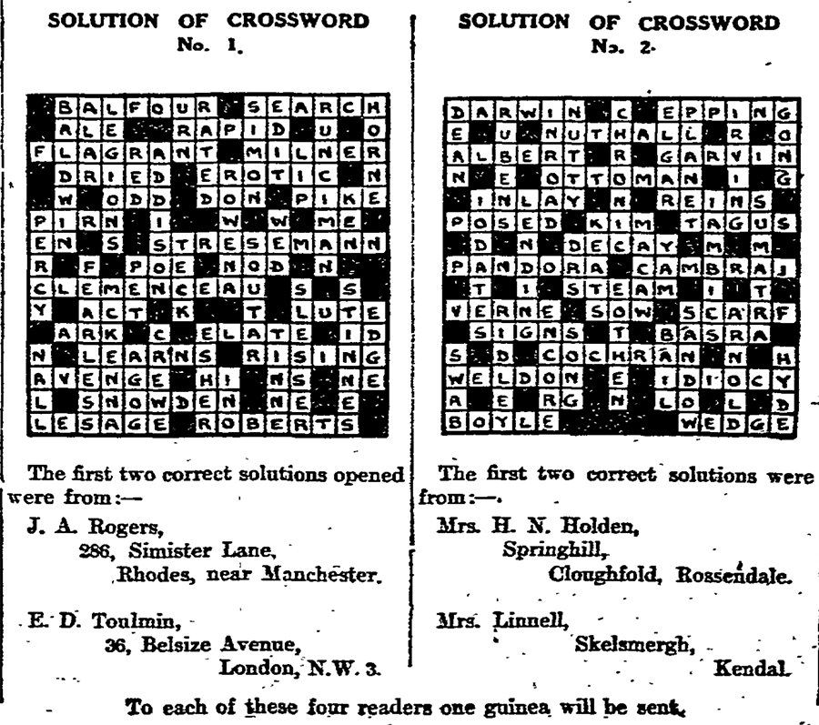 Below is the Guardianu0027s Crossword No.1 in full (click the image to expand) and if you donu0027t want to see the solution ...  sc 1 st  The Guardian & Can you solve the first Guardian crossword? Archive 5 January ... 25forcollege.com