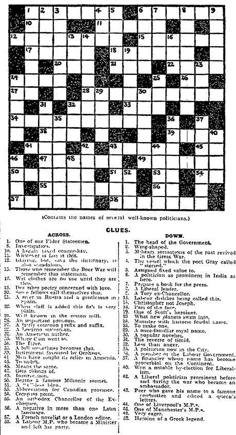 can you solve the first guardian crossword archive 5