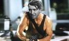 James Stewart in Die Hard - photomontage